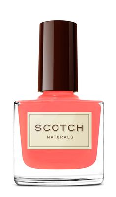 Scotch Naturals Nail Polish is an effective salon quality, water based, safe & non-toxic nail polish. Natural Nail Polish, Natural Nails, Beauty Nails, Diy Beauty, Scotch, Hair And Nails, My Nails, Nice Nails, Water Based Nail Polish