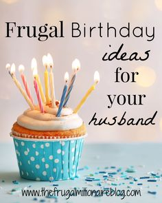 Birthday Gift Ideas for Husband Luxury Frugal Birthday Ideas for Your Husband th. Birthday Gift Ideas for Husband Luxury Frugal Birthday Ideas for Your Husband the Frugal. Birthday Present For Husband, Bday Gifts For Him, 38th Birthday, Birthday Gifts For Husband, Birthday Week, Birthday Celebration, Grandma Birthday, Birthday Bash, Thoughtful Gifts For Him