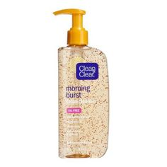 CLEAN & CLEAR®MORNING BURST®Facial Cleanser nourishes skin while removing dirt, oil, and impurities that build up overnight. The gentle cleanser is ideal for normal, oily, and combination skin. Designed to clean and energize your skin, this foaming face wash contains BURSTING BEADS®, vitamin C, and ginseng. An invigorating citrus fragrance energizes your senses, so you're ready to face the day. CLEAN & CLEAR®MORNING...