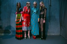 Pictures of the Day: The United States and Elsewhere - Gucci fashions on display at the start of Milan Fashion Week in - The New York Times