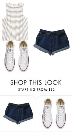 """"" by mariami-princess2013 ❤ liked on Polyvore featuring Converse"