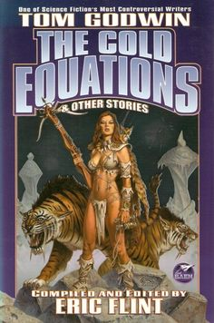 CLYDE CALDWELL - The Cold Equations & Other Stories by Tom Godwin - 2003 Baen Books