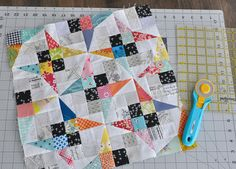 Jenny Kingwell's Green Tea & Sweet Beans pattern from her book, Quilt Lovely.