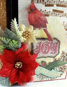 Monkeydreamz: Tales of a Paper Addict: Botanical Noel Christmas Mini Album