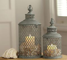 Lynden Lanterns #potterybarn
