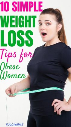 10 simple weight loss tips on how to lose weight fast for obese women.The best weightloss motivation and healthy eating tips. Read the top natural fat burning tips to lose 10 pounds. Weight loss tips for obese women Lose Weight Fast Diet, Quick Weight Loss Tips, Lose Weight In A Week, Weight Loss Help, Losing Weight Tips, Weight Loss For Women, Weight Loss Program, Healthy Weight Loss, How To Lose Weight Fast