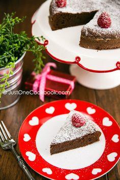 Chocolate Gateau | Dessert Recipe | Just One Cookbook