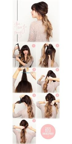5 Dressed Up DIY Hairstyles