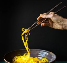 golden beet noodles