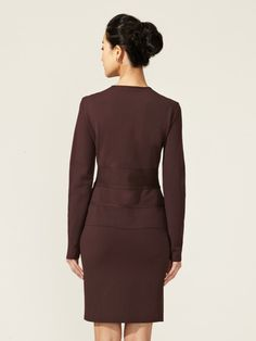 Piped Bow Jacket by Valentino at Gilt
