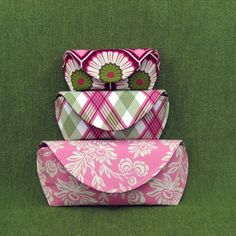 PDF sewing pattern Clutch and cases