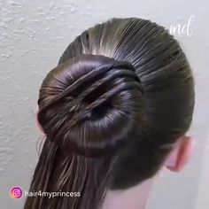 Short Hair For Kids, Short Hair Bun, Easy Hairstyles For Long Hair, Braided Hairstyles, Videos Of Hairstyles, Active Hairstyles, Hair Kids, Hairstyle Men, Style Hairstyle