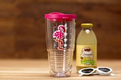 Sip your favorite summer beverage from this Flamingo Dot Tervis from the Cracker Barrel Old Country Store.