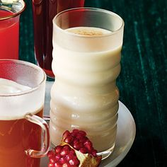 coconut eggnog (coquito)- marries two of my favorite things.....