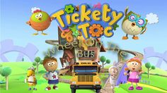 Tickety Toc Wheel On The Bus   Nursery Rhyme For Children   W Family Pro...
