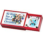 We Wish You a Merry Christmas Matchbox Music Box. Holiday scenes in miniature! Slide the music matchbox to one side, and wind the key. Slide to other side, and watch the holiday revelers circle to the chimes of a favorite Christmas carol. 2 x 3 1/4.. Price: $6.97 Christmas Games, Christmas Carol, Christmas Traditions, Toy Chest, Projects To Try, Miniatures, Key, Gift Ideas, Watch