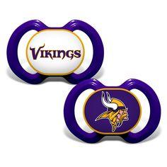 Minnesota Vikings Pacifier 2 Pack
