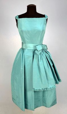 Dior Coctail Dress - 1950's - by Christian Dior New York Inc. - Silk