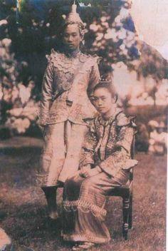 Prince and princess of Shan state (Myanmar)