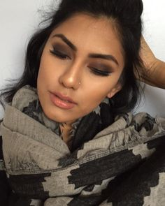 #TheBeautyBoard Makeup of the Day: Autumn Brown Smokey Eye by makeupwithmich. Upload your look to gallery.sephora.com for the chance to be featured! #Sephora #MOTD