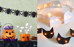 Ideias de última hora para decorar uma festa de Halloween!