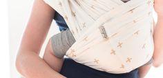 Modèle Aztec. Le porte-bébé Studio Romeo est une alternative pratique aux écharpes difficiles à nouer et aux porte-bébés encombrants, de la naissance à 12kg.