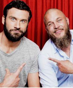 Ragnar / rollo  Enemy brothers