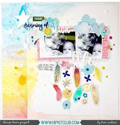 Have you joined the new watercolor trend? Designer @kjstarre has and created this stunning layout using the #may2017 #hipkits! @hipkitclub #hkcexclusives #exclusives #hipkitclub #hipkit #hipkitexclusives #mixedmedia #watercolors @primamarketinginc #watercolorconfections @shimelle #littlebylittle #papercrafting #kitclub #coloraddonkit #colorkit #scrapbookkits #scrapbookingkitclub #scrapbooking