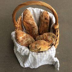 Verdens bedste ciabattabrød Ciabatta, Baguette, Protein, Stuffed Mushrooms, Brunch, Bread, Vegetables, Flutes, Foodies