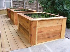 homemade wooden planters from pallets