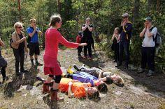 Theatre goes to the woods. The Day of Finnish Nature 2015. Photo: Metsähallitus / Antti Saario