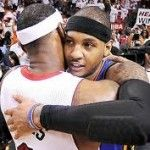If Carmelo Anthony & Lebron James Stay On The Same Coast, They Will Team Up….