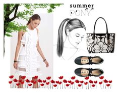 """summer Pony"" by ejuszczyk ❤ liked on Polyvore featuring Topshop and Calvin Klein"