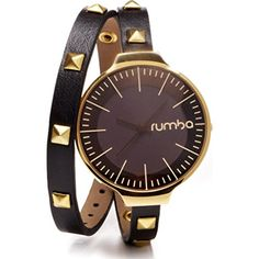 RumbaTime Orchard Double Wrap Lights Out Analog Display Japanese Quartz Watch * For more information, visit image link.(It is Amazon affiliate link) #clouds
