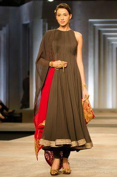 http://www.ShantanuNikhil.com/ Collection 'To Die For' @ India Bridal Fashion Week (July) 2013,  via Delhi Style Blog