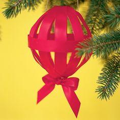 Ribbon Ornament Handmade Christmas Ornament