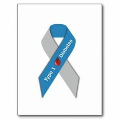 Type 1 Diabetes Awareness Tattoos | To Diabetes Grey Ribbon Awareness Tattoo