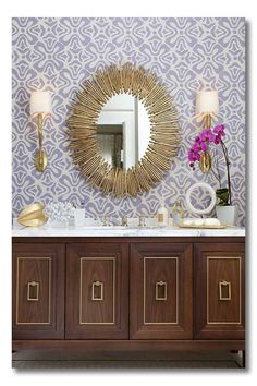 Bathroom by Tineke Triggs of Artistic Designs for Living