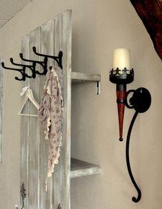 """Garderoben - Schweden-Garderobe """"Liza"""" - ein Designerstück von atelier-nr13 bei DaWanda"""