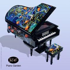 Baby Grand Piano Jewelry Music Box by Juleez -  Piano Garden