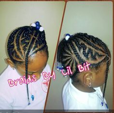 Braids for little girls...