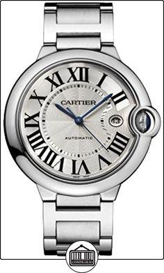 Cartier Ballon Bleu De Hombre Acero Reloj w69012z4  ✿ Relojes para hombre - (Lujo) ✿