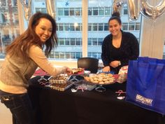 Bake Sale supporting St. Jude at the St. Jude Holiday Helper Event at our #NYC Office! #StJude #Holiday
