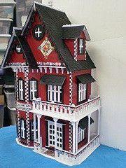 miniature gothic dollhouse - Google Search
