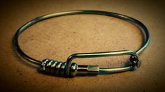 Bicycle Spoke Bracelet by BryansRebicycling on Etsy