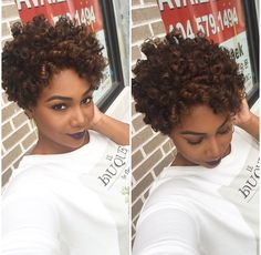 Super ringlets short sew in or natural rod curl style