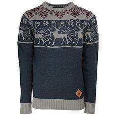 Xmas Christmas Jumper Mens Soulstar Knit Jumper Christmas Jumpers, Men Sweater, Knitting, Sweaters, Outfits, Xmas, Gifts, Fashion, Moda