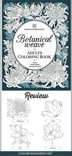 Botanical Weave Coloring Book Review