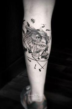 Gael Ricci, le tatouage de précision   Inkage