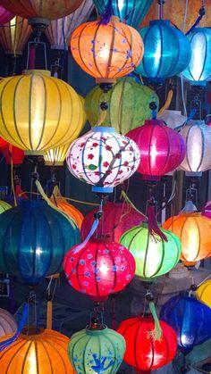 Lanterns in Hoi An Vietnam Vietnam History, Laos, New Years Decorations, Chinese Lanterns, Hoi An, Travel Magazines, Book Projects, Vietnam Travel, Paper Lanterns